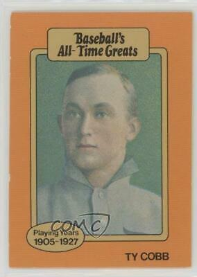 1987 Hygrade Baseballs All Time Greats Ty Cobb Detroit Tigers Baseball Card