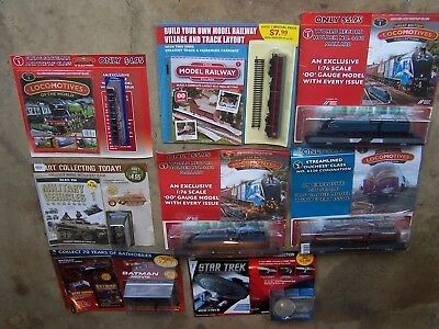 British Locomotives Collections. 8 Models & Magazines.
