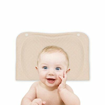 Baby Pillow for Newborn Prevent Flat Head Syndrome Baby Memory Foam Head-Shap...