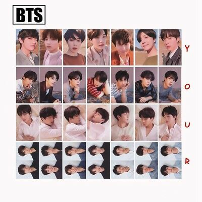 BTS FAKE LOVE YOURSELF Tear Lomo Photo Cards Album Rounded Autograph Photocard