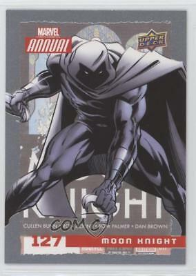 2016 Upper Deck Marvel Annual #127 SP Moon Knight Non-Sports Card 5x8