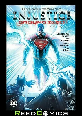 INJUSTICE GROUND ZERO VOLUME 2 GRAPHIC NOVEL New Paperback Collects Issues #7-12