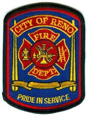 Reno Fire Department Patch Nevada NV SKUFC5