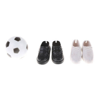 Clothes Accessory Shoes Sneakers and Football For Barbie Friend Dolls Accessor%