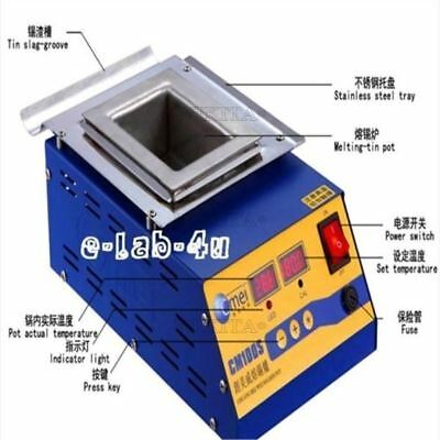 Preheating Soldering Pot 900W Preheat Station Square Tin Pot Digital CM-150S hi