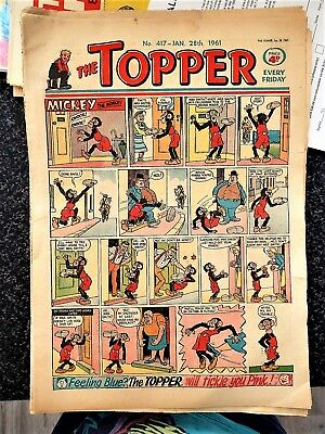 THE TOPPER # 417 January 28th 1961 Comic