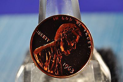 1963 P Lincoln Memorial Cent (Penny) -  Proof