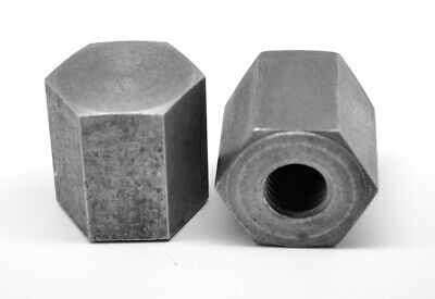 9/16-12 Coarse Flat Head Cap Nut Plain Finish