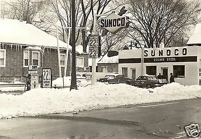 5x7  BROWN BROS.  SUNOCO SERVICE  STATION  GAS  22.9 cents
