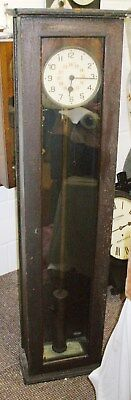 Early Gents Electric Master Clock For Renovation Approx 1927.