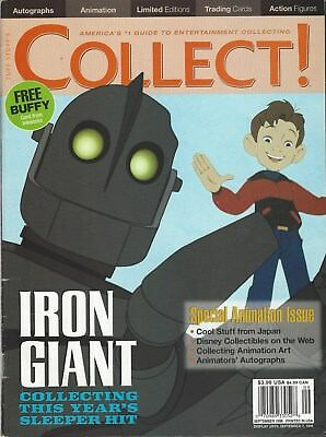 Collect Magazine America's #1 Guide To Entertainment Collecting Sept 1999 V1 N7