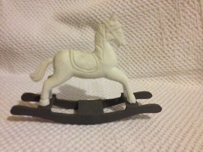 Wooden Model / Ornament Toy Rocking Horse - Ready to Paint