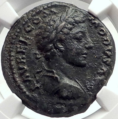 COMMODUS Gladiator Emperor 178AD Authentic Ancient Genuine Roman Coin NGC i70012