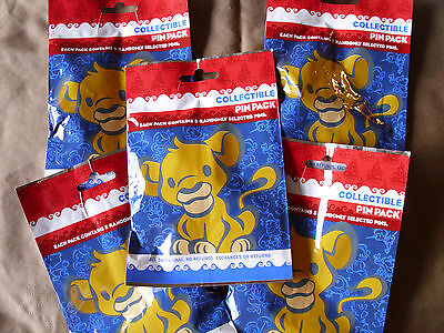 Disney * CUTE BABIES * 5 PACKS * NEW 5-pin Collectible Mystery Pack Pins