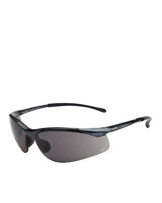 NEW Bolle Sidewinder Safety Glasses Smoke Lens