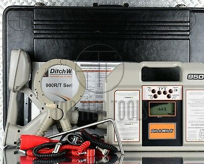 Ditch Witch Subsite 950 R/T Cable/Pipe Locator Underground Utility Line Tracer