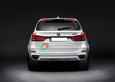 BMW X5 F15 2013-2108 ROOF Extension Lip Spoiler  AERODYNAMIC Wing  UK SELLER