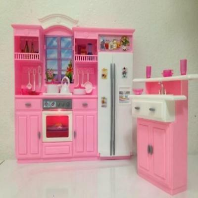 Barbie Size Dollhouse Furniture My Fancy Life Kitchen Play Set Gloria MYTODDLER