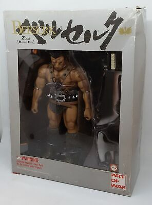 Berserk Action Figure Boxed ZODD HUMAN FACE