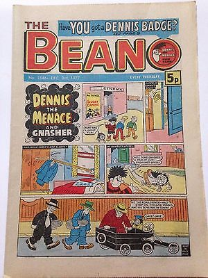 DC Thompson THE BEANO Comic. Issue 1846 December 3rd 1977 **FREE UK POSTAGE**