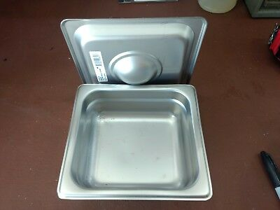 Stainless Steel tray for 4x5 negatives with lid.