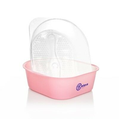Belava Pro Salon Pedicure Starter Kit Bowl With 25 Replacement Liners - Pink