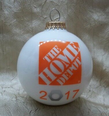The Home Depot 2017 Christmas Ornament Holiday New In Box