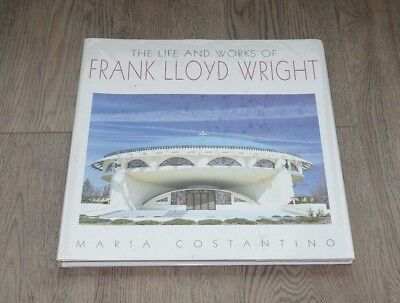 The life and the works of Frank Lloyd Wright, Maria Constantino, mit Schutzhülle