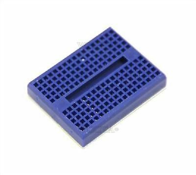 5Pcs Solderless Mini Blue For Arduino Prototype Breadboard 170 Tie-Points New wo