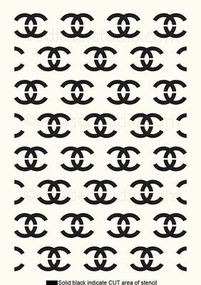 Famous design Stencil Pattern Template Card making Paint Furniture Crafts TE294