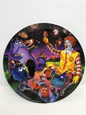McDonald's Collectors Melamine Dinner Plate 4th of July 2002