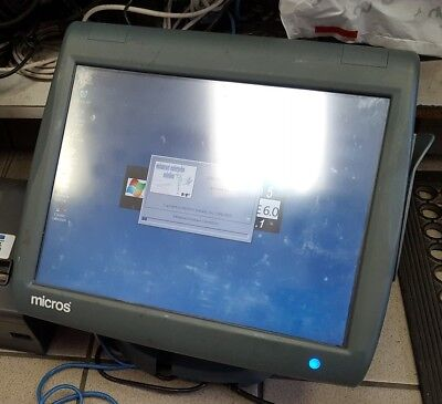 400814-001 Micros WS5 Workstation 5 POS Touchscreen System - 7 UNITS AVAILABLE
