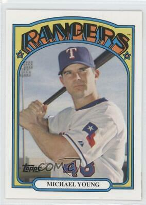 2008 Topps Trading Card History #TCH71 Michael Young Texas Rangers Baseball