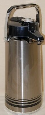 Airpot 84 Oz.(2.2 Lt.) Stainless Steel Lined (Peacock Lever Pot)