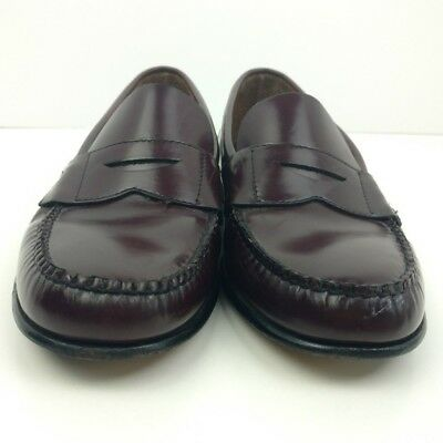 7d341c9659c Brooks Brothers Mens Shoes Size 6 M Cordovan Penny Loafers Leather Slip On  Used