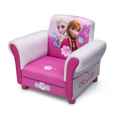 Disney Frozen/Cars Movie/Minnie Mouse Kids Deluxe Upholstered Comfy Lounge Chair