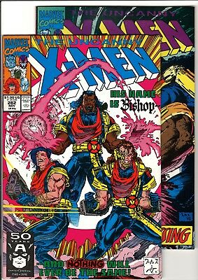Uncanny X-Men #282 & #283 VF+ (Nov/Dec 1991, Marvel) 1st Cameo/Full App. Bishop!