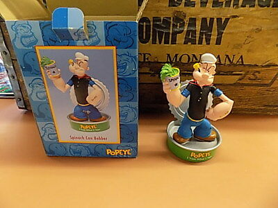 Popeye I Yam What I Yam Figure Spinach Can Bobber 2002 King Features_NIB_