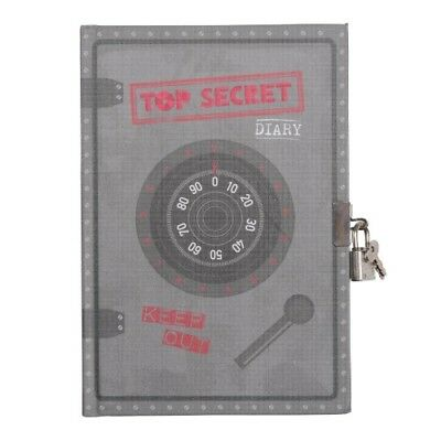 NEW Tiger Tribe Top Secret Diary Lockable Diary for Boys with Lock & Keys