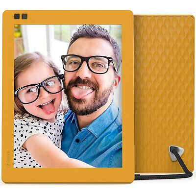 Photo Digital Frame Picture With Player Remote Movie Clock Multimedia Album Inch