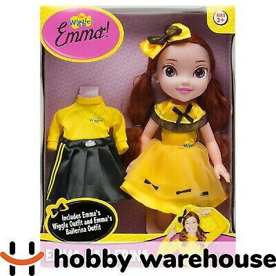 New The Wiggles 15 Inch Emma Doll with Ballerina Outfit
