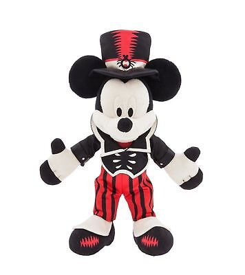 Disney Parks Mickey Mouse Halloween Soft 9'' plush soft toy, New & Tags