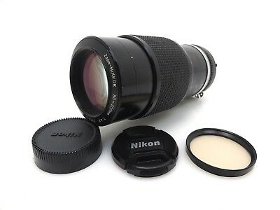Nikon Zoom Nikkor Lens 80/200 mm 1/4,5 #252665 front and back cover id007