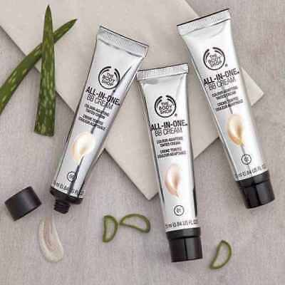 The Body Shop All-In-One BB Cream-shades-01- 02- 03.Brand New! Same day dispatch