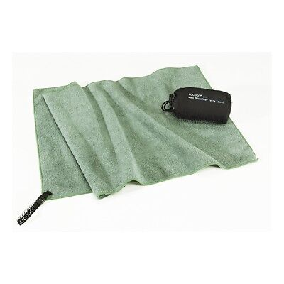 Cocoon - Microfiber Terry Towel Light - bamboo green - Microfaser Handtuch