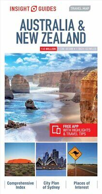 Insight Travel Map Australia & New Zealand by Insight Guides (Sheet map,...
