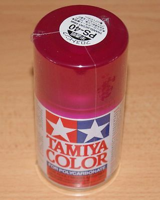 Tamiya Ps 40 Translucent Pink R C Spray Paint For Polycarbonate 100ml