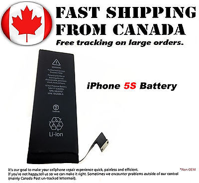 New Battery Replacement For Apple iPhone 5S 1560mAh Internal Battery 3.8V Li-ion