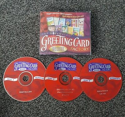 Art explosion greeting card factory deluxe pc cd rom 899 art explosion greeting card factory deluxe pc cd rom m4hsunfo