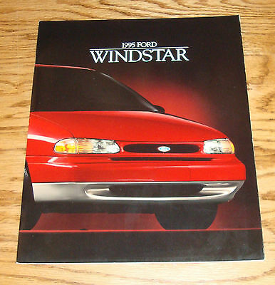 Original 1995 Ford Windstar Sales Brochure 95 1/94 GL LX